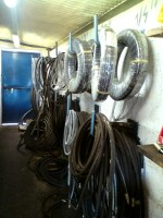 Hydraulic hoses held in store by Brian Murphy Precision Engineering Ltd, Hydraulic Rams Manufacture & Repair, Ireland